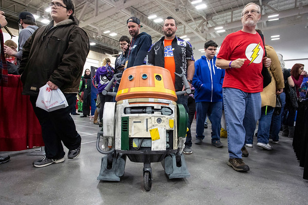 Louisville SuperCon rolled into the Kentucky International Convention Center for the weekend featuring hundreds of exhibits, artist booths, celebrity autograph sessions and an endless parade of cosplayers. 12/1/18