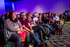 Fans listen in on one of the celebrity Q&A sessions during Louisville SuperCon. 12/1/18