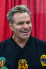 Martin Kove (Cobra Kai of Karate Kid fame) laughed with fans during Louisville SuperCon. 12/1/18