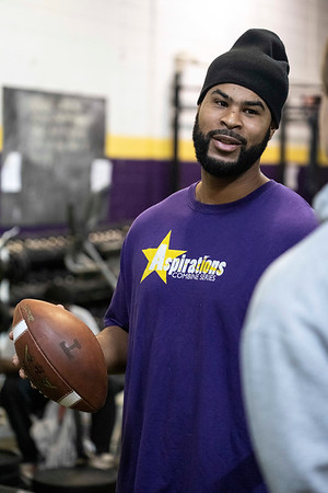Chris Vaughn prepares high school athletes to take on the next level of competition in life through instruction and intense physical training. 12/12/18