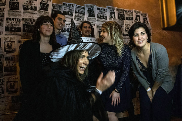 Harry Potter fans enjoyed a mugshot area during Yule Ball: a Magical Evening at the Palace on Friday night. 12/21/18