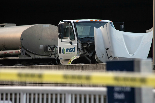 An MSD tanker truck was one of the vehicles involved ina fatal accident on I-64 Monday afternoon. 12/24/18