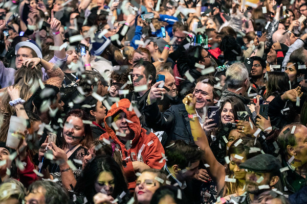 Fans of all ages celebrated the arrival of 2019 together at Fourth Street Live on Monday night. 1/1/19
