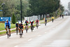 Ironman participants cycle down the final stretch of River Road on Sunday afternoon. 10/14/18