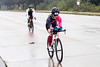 Katherine Tarvin was the first woman to pedal through the intersection of Frankfort Avenue & River Road during Ironman on Sunday. 10/14/18