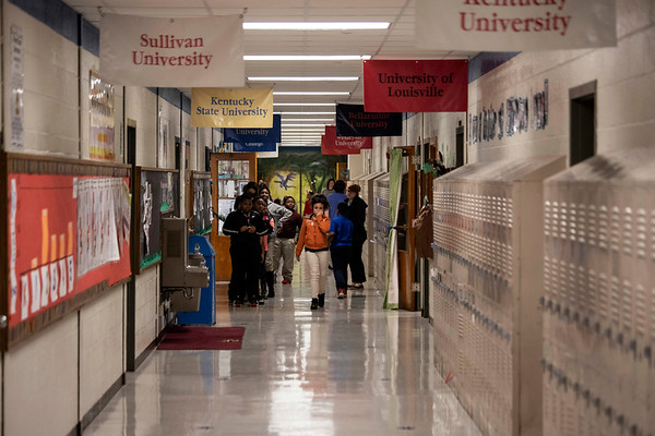 The halls of Gilmore Lane Elementary could be silenced forever as JCPS plans to build three new schools while closing up to eleven other campuses. 1/17/19
