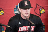 UofL's Tyler Fitzgerald responded to questions from the media at Patterson Stadium on Tuesday. 2/5/19