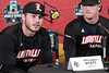 UofL baseball's Logan Wyatt answered questions about the 2019 season during the team's media day on Tuesday. 2/5/19