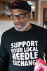 Donald Davis serves as the needle exchange program manager and is also a harm-reduction specialist for the Volunteers of America. 2/6/19