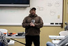 CCDW instructor Marlan Ingram discussed the storage, safety, maintenance and liabilities associated with carrying a firearm during a Saturday morning class at Openrange in Crestwood. 2/16/19