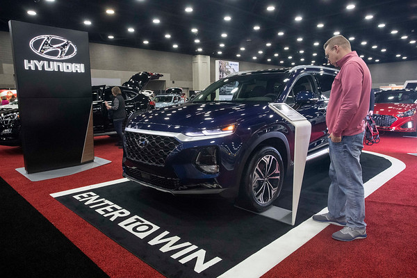 Hyundai was one of the brands represented at the annual Louisville Auto Show. 2/23/19