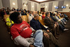 The Louisville Metro Council chambers were filled to capacity on Thursday night as concerned citizens spoke out against proposed tax hikes and budget cuts. 2/28/19