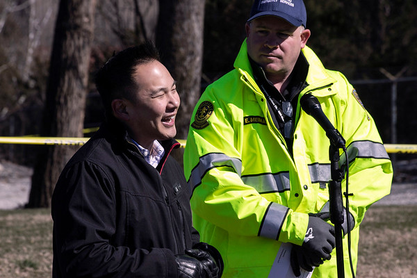Louisville Mega Cavern executive vice president Charles Park addressed concerns about a sinkhole discovered on the Louisville Zoo property Wednesday morning. 3/6/19