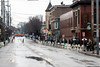 The usually packed Baxter Avenue in the Highlands was a bit barren before the start of the annual St. Patrick's Parade on Saturday. 3/9/19