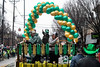 Beads wait to be distributed from the rear of one of the St. Patrick's Parade floats. 3/9/19