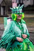 The grey skies overhead couldn't wash away the green that filled the streets during the annual St. Patrick's Parade. 3/9/19