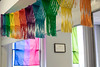 The new LGBTQIA+ safe space at 417 East Broadway is decorated with the colors of the rainbow. 3/15/19