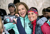 Harmony Ray got an autograph from, and photo with, Boston Marathon legend Kathrine Switzer during a meet and greet and run in Cherokee Park on Thursday. 3/21/19