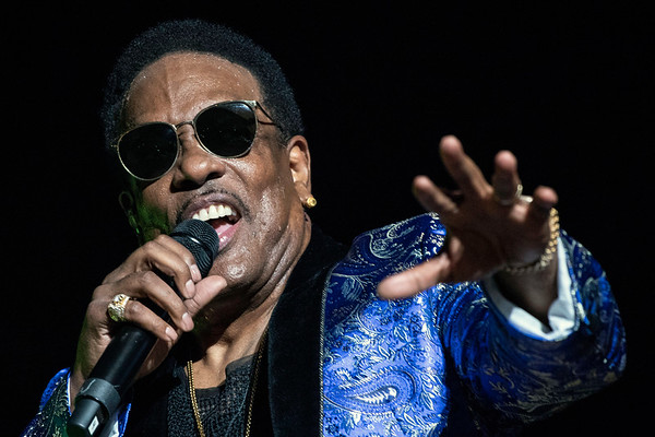 "Former Gap Band frontman Charlie Wilson (aka Uncle Charlie) brought his ""In It to Win It"" tour to the KFC Yum Center on Saturday night. 4/6/19"