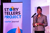 Courier Journal news director Veda Morgan welcomed the audience to another installment of the Louisville Storytellers Project at Play on Tuesday night. 4/9/19