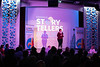Carla Harris Carlton told the tale of the city's Bourbon history during the Louisville Storytellers Project on Tuesday night. 4/9/19