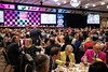The Galt House East Grand Ballroom was filled with activity on Friday afternoon as the Kentucky Derby Festival held its annual They're Off! Luncheon featuring ESPN's Hannah Storm as the guest speaker. 4/12/19