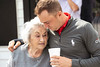 Pro golfer Justin Thomas greets his grandmother Phyllis Thomas with a hug on Thursday morning at Big Spring Country Club. 4/18/19