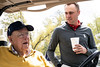 Pro golfer Justin Thomas chats with his grandfather Paul Thomas at the Harmony Landing Campus, Big Spring Country Club. This weekend the golf course in Goshen, KY will host the Justin Thomas Junior Championship. 4/18/19