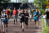 KDF Marathon runners continue north along Third Street at the UofL campus on Saturday. 4/27/19