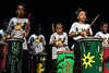 Miniature members of the River City Drum Corp Pipe Drums opened up a night of entertainment at the Palace Theatre during the 13th annual Da'Ville Classic Drumline Showcase. 4/27/19