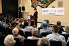 Rabbi Avrohom Litvin, regional director of Chabad Kentucky, was the final speaker at a Unite For Light service at the Jewish Community Center on Tuesday night. 4/30/19