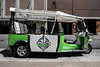 """Bourbon City Cruisers and the Omni Louisville Hotel announced on Monday morning the launch of the new Louisville Tuk Tuk tours. Described as """"transportainment,"""" the eco-friendly tours will offer unique views for the downtown sightseers. 5/20/19"""