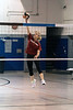 Kim Weitlauf goes strong at the net during a 50 Shades of Grey team practice at St. Barnabas on Wednesday night. 5/22/19