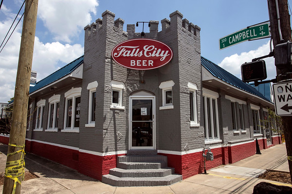 The Fall City Brewing Company Taproom & Beer Garden is located at 901 East Liberty Street. 7/19/19