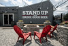 There is plenty of outdoor seating available at the The Fall City Brewing Company Taproom & Beer Garden. 7/19/19