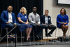 "Papa John's Pizza executives Stacey Wade, Leah Schultz, Marvin Boakye, Shane Hutchins, and Victoria Russell were the panelists for a ""Diversity, Equity and Inclusion"" discussion on Tuesday morning hosted by GLI. 7/23/19"