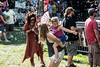 Bubbles were a constant stage front detail during Grateville Dead Music Festival. 7/27/19