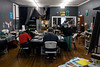 Creative Diversity Studio on Barret Avenue has both gallery space and work space for artists with disabilities. 8/6/19