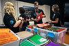 School supplies were part of a bag stuffing for returning students during an event organized by AT&T employees. 8/13/19