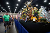 Holiday arrangements and Christmas trees are included hobbies on display at the Kentucky State Fair. 8/18/19