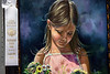 "Wes Kendall's painting titled ""Maddie"" was awarded a ribbon in the realism category at the Kentucky State Fair. 8/18/19"