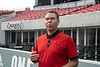 UofL athletic director Vince Tyra announced on Thursday afternoon that the university would receive a $1.5 million dollar donation from Zappos.com for naming rights on the Cardinal Stadium field suites along with funding to refurbish the faded lower bowl seats installed in 1998. 8/22/19