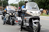 Motorcycles lined a stretch of Indian Trail on Saturday as participants in the Newburg Days parade. 8/31/19