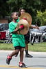 Members of the River City Drum Corps marched in the Newburg Days parade on Saturday afternoon. 8/31/19