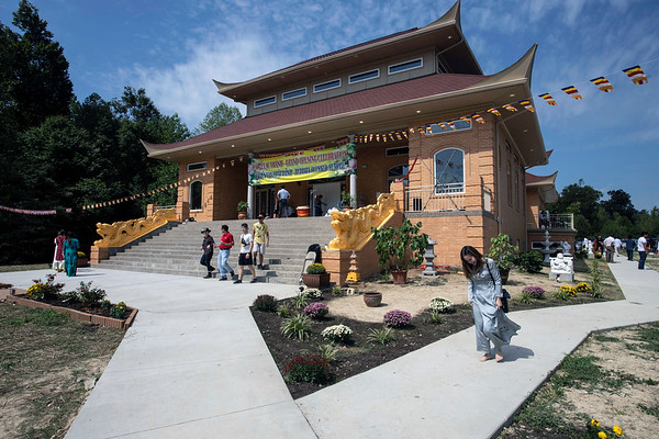 The Buddha Blessed Temple at 7748 Third Street Road is the largest Buddhist center in the Midwest with 15.5 acres of land and a 14,000 square foot building. 9/1/19