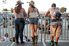 Fans enjoy the views from the Monster Energy area at Hometown Rising on Saturday. 9/14/19