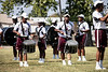 The Simmons College band performed during the school's media day on Thursday afternoon. 9/19/19