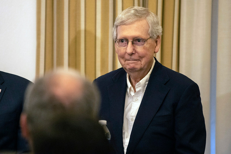 Senator Mitch McConnell was a guest speaker at UofL on Friday afternoon. 10/4/19