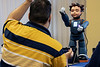 Patients are given prompts and directives during interaction with the robot Milo including playful gestures like dancing. 10/7/19
