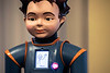 Using a combination of an iPad and a LCD display in the chest of robot Milo, autism patients are able to learn important communication skills like eye contact and how to determine a person's thoughts or feelings. 10/7/19